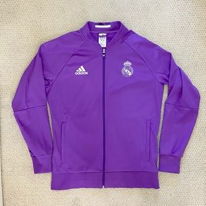 Adidas Real Madrid FC Jacket Men's L. NEW